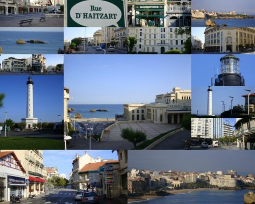 Carte postale de Biarritz
